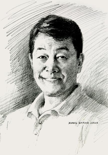 Xiang Zhang portrait